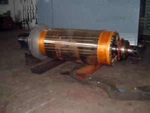 Riparazioni di motori elettrici in officina